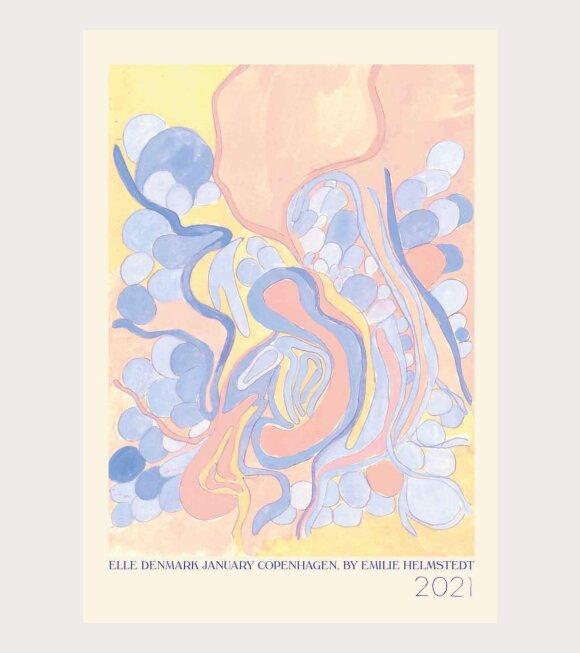 Helmstedt - Elle Cover Poster Multicolour