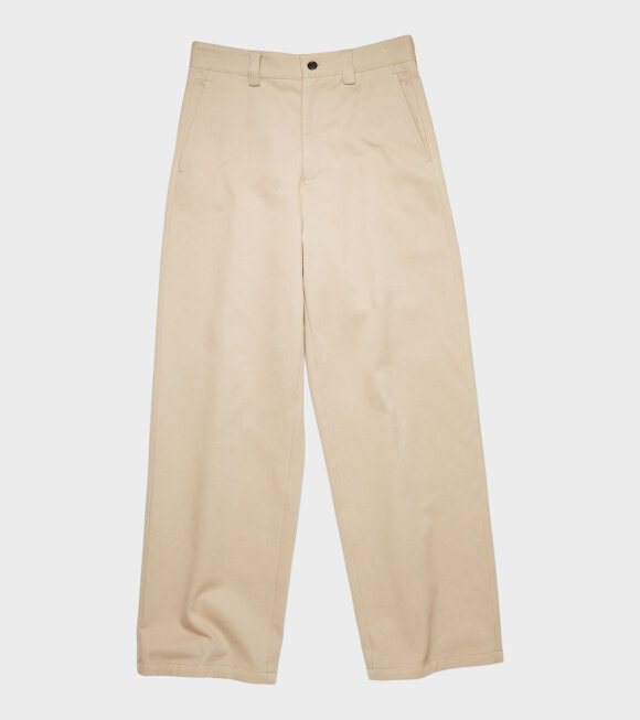 Acne Studios - Workwear Trousers Beige
