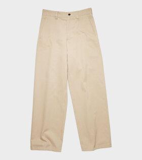 Workwear Trousers Beige