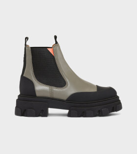 Low Chelsea Boot Green