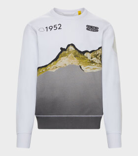 Maglia Girocollo Sweat Mountain White