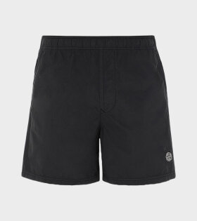 Stone Island - Logo Swim Shorts Black