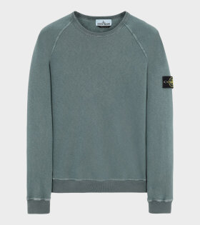 Stone Island - Washed Patch Sweatshirt Green