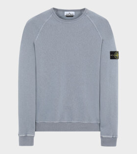 Stone Island - Washed Patch Sweatshirt Grey