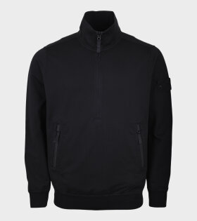 Ghost Half Zip Sweat Black