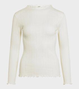 Mads Nørgaard  - Trutte LS T-shirt Off White