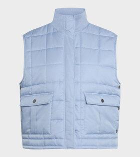Duvet Dream Vibe Vest Forever Blue