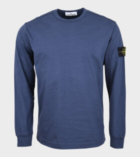Stone Island - Patch Crewneck Navy