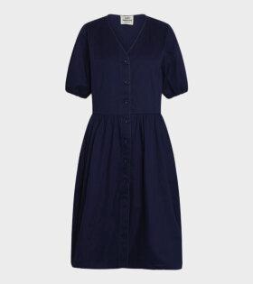 Mads Nørgaard  - Darlia Dress Navy