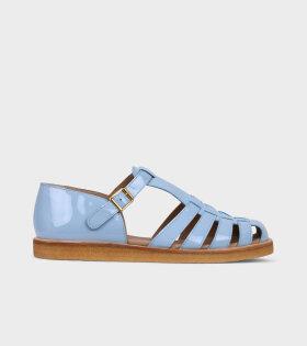 Closed Toe Sandals Blue