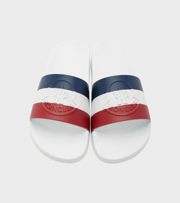 Moncler - Basile Sandals White