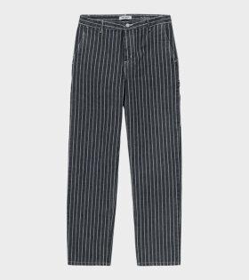W Trade Pants Hickory Stripe Navy/Wax