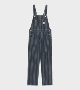 Carhartt WIP - W Trade Overall Hickory Stripe Navy/Wax