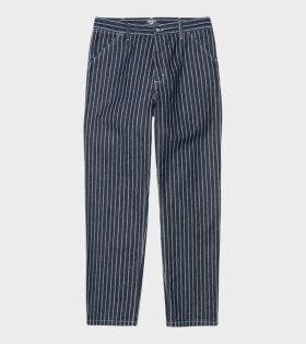 M Trade Pants Hickory Stripe Navy/Wax