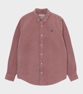 L/S Madison Cord Shirt Rosa