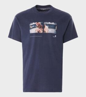 Carhartt WIP - Backyard T-shirt Navy