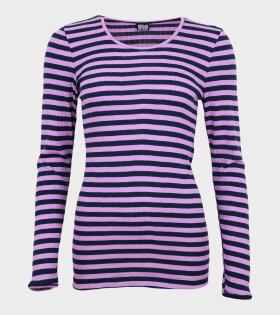 101 Rib Purple/Navy