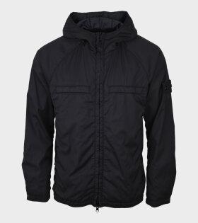 Stretch Wool Nylon Ghost Jacket Black