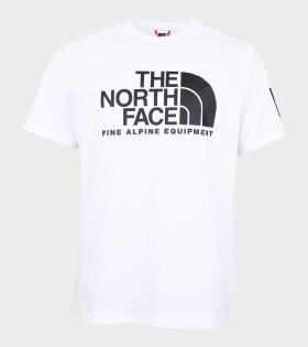 M Fine Alp SS T-shirt White