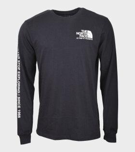 M Coordinates LS T-shirt Black