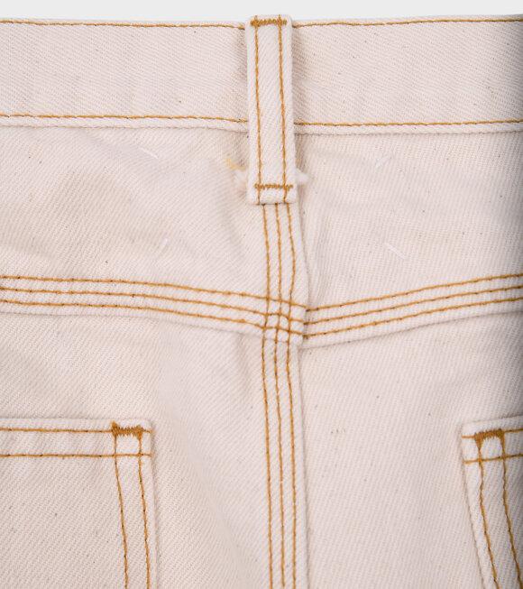 Maison Margiela - Workwear Jeans White