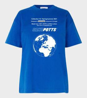 Saks Potts - Tun T-shirt Blue