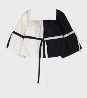 Saks Potts - Skagen Blouse Black/White