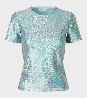 Saks Potts - Sai T-shirt Baby Blue Shimmer