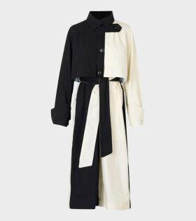 Saks Potts - Jenn Coat Black/White
