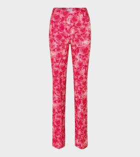 Lissi Pants Sexy Rose Print