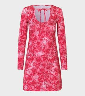 Saks Potts - Victoria Dress Sexy Rose Print