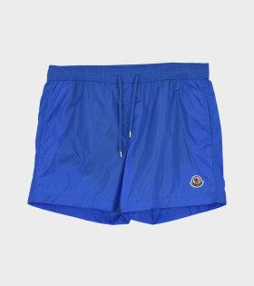 Moncler - Boxer Mare Shorts Blue
