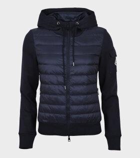 Moncler - Maglia Cardigan Jacket Navy