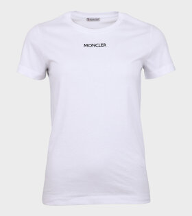 Maglia Girocollo Logo t-shirt White