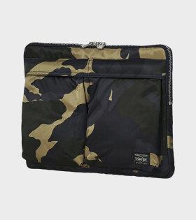 Document Case Khaki Camouflage