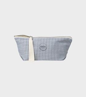 Aiayu - Pouch Mini Striped Indigo