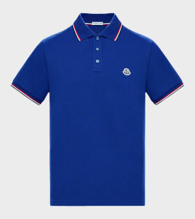 Moncler - Maglia Polo Shirt Blue