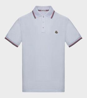 Moncler - Maglia Polo Shirt White