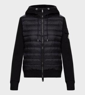 Moncler - Maglia Cardigan Jacket Black