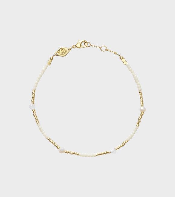 Anni Lu - Clemence Bracelet Ecru