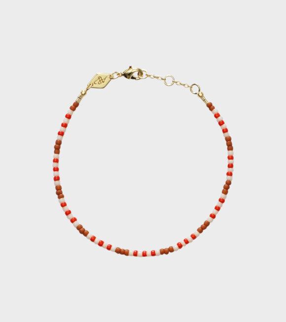 Anni Lu - Tamarindo Bracelet Redwood