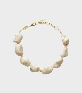 Anni Lu - Beach Cocktail Bracelet Ecru