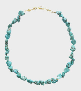 Anni Lu - Beach Cocktail Necklace Aqua