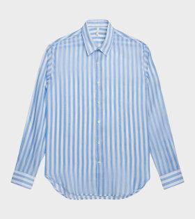 Dan Shirt Light Blue/White