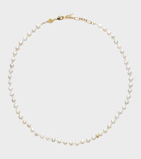 Anni Lu - Petit Stellar Pearly Necklace Gold