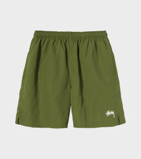 Stock Water Shorts Green