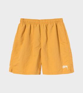 Stock Water Shorts Yellow