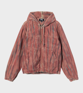 Dyed Work Jacket Red