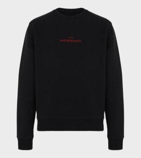 Maison Margiela - Logo Sweatshirt Black