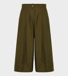 Moncler X JW Anderson - Pantalone Shorts Green